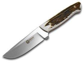 BOKER ARBOLITO Genuine Deer Stag Hunter Fixed Blade Knife Knives