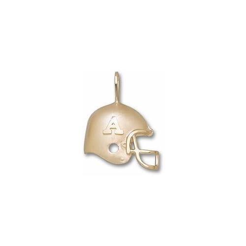 Alabama Crimson Tide A Helmet Pendant   10KT Gold Jewelry