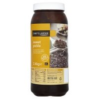 Chefs Larder Sweet Pickle 2.4kg Suitable For Vegetarians