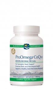 Pro Omega CoQ10 120 Softgels
