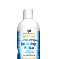 Essential Oxygen Brushing Rinse Organic Peppermint 16 Oz