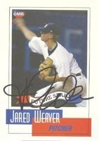 Jared Weaver Anaheim Angels 2004 OMR Autographed Hand Signed Trading Card. by Hall+of+Fame+Memorabilia