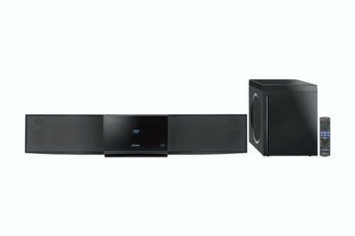 Panasonic SCBFT800EBK 3D Blu-Ray Soundbar System With Wireless Subwoofer