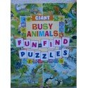 img - for Giant Busy Animals Fun to Find Puzzles book / textbook / text book
