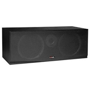 Polk Csr Black 2-Way Black Center-Channel Speaker