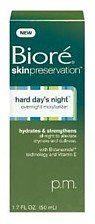 Biore Hard Days Night Overnight Face Moisturizer-1.7 oz