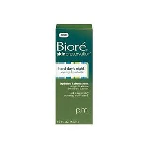 Biore Hard Day's Night Overnight Moisturizer – 1.7 oz.