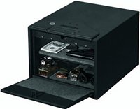 Stack-On QAS-1200 Quick Access Safe with Electronic Lock, Black