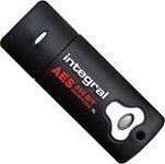 Integral Flash Memory 2GB Courier AES Security Edition Pen Drive
