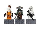 LEGO Star Wars Magnet Set - ARF Trooper (senior Cavalry trooper), embossing, Aura Sing] / LEGO STAR WARS Magnet Set: ARF Trooper, Embo and Aurra Sing 853421 [domestic distribution regular article] (japan import)