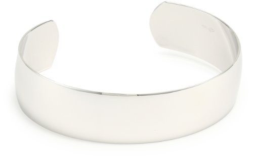 Sterling Silver Polished Cuff Bracelet