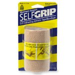 SelfGrip Maximum Support Self-Adhering Athletic Tape or Bandage, 4 Inch, Beige - 1 ea