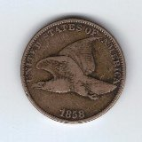 1857-1858 Flying Eagle Indian Cent G/VG
