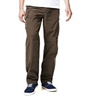 Cotton Rich Utility Trekking Regular Fit Trousers