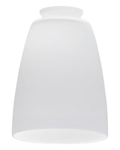 Lithonia Lighting DBEL 1001 M6 Decorative Bell Shade, Opal White