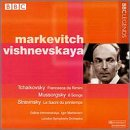 Igor Markevitch, chef d'orchestre - Francesca da Rimini / Six mélodies / Le Sacre du printemps
