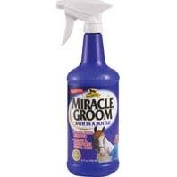 ABSORBINE MIRACLE GROOM SPRAYER, Size: 32 OUNCE (Catalog Category: Equine Grooming:SHAMPOOS, CONDITIONERS & SHINE)