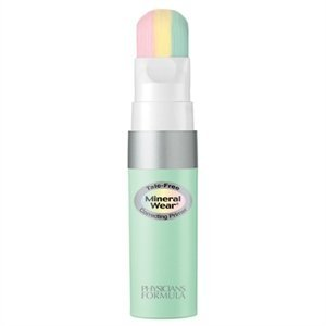 Physicians Formula Mineral Wear Talc-Free Mineral Correcting Primer, Green, 0.5 Ounce