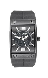 Nautica Women's NMC100 Black Resin watch #N17527L