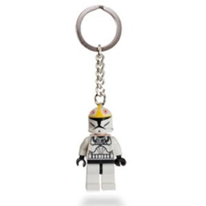 LEGO Star Wars Clone Pilot Keychain Key Chain 853039