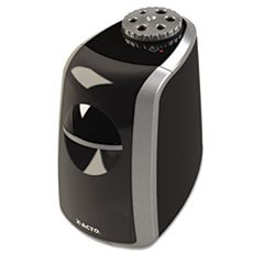 ** Sharpx Principal Electric Pencil Sharpener, Black/Silver