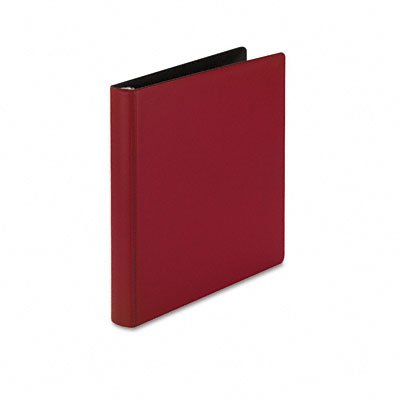 Heavy-duty locking round ring binder for 11 x 8-1/2 sheets, 1 cap., red - Buy Heavy-duty locking round ring binder for 11 x 8-1/2 sheets, 1 cap., red - Purchase Heavy-duty locking round ring binder for 11 x 8-1/2 sheets, 1 cap., red (Samsill, Office Products, Categories, Office & School Supplies, Binders & Binding Systems, Binders, Ring Binders, Round Ring Binders)