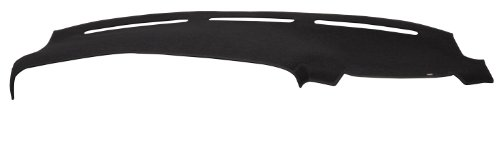 DashMat Original Dashboard Cover Dodge Van (Premium Carpet, Black)