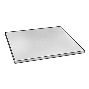 Sheet, Poly, Clear, 0.375 In T, 48 x 96 In
