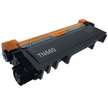 Refurbished / Compatible BROTHER TN660 Laser Toner Cartridge Black High Yield