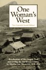 One Woman's West: Recollections of th...