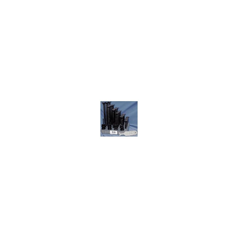 Under Head // 3//4 Table Slot Te-Co Series 803 3//4-10 Tugger T-Bolts x 3-1//2 Lgth A B