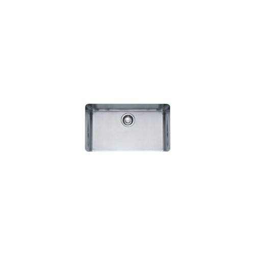 Franke KBX11028 Kubus 15-Inch x 27-Inch Single Bowl Undermount Kitchen Sink (27 Kitchen Sink compare prices)