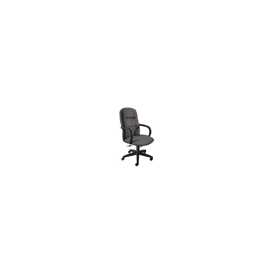 HON Company Products   Executive High Back Chair, 26x28x48 3/4, Lava/Black Frame   Sold as 1 EA   Executive high back chair features exceptional quality visco elastic memory foam in the seat cushion that reduces pressure points and responds to contours