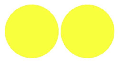 Precut Vinyl Tint Cover for 2008-2014 Subaru Impreza WRX Foglights (Yellow) (Fog Lights Cover Subaru Impreza compare prices)