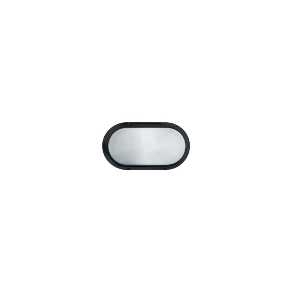 Superdelta Oval Outdoor Wall Sconce by LBL Lighting  R021713   Lamping  Incandescent   Finish  White