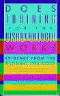 img - for Does Training for the Disadvantaged Work?: Evidence from the National JTPA Study book / textbook / text book