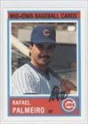 Rafael Palmeiro (Baseball Card) 1987 Iowa Cubs Team Issue #24 by Iowa Cubs Team Issue