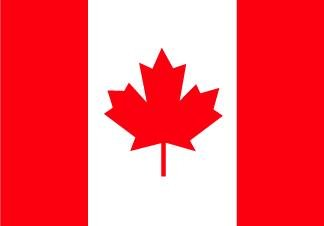 3 x 5 Feet Canada Poly - outdoor International Flag Made in US.