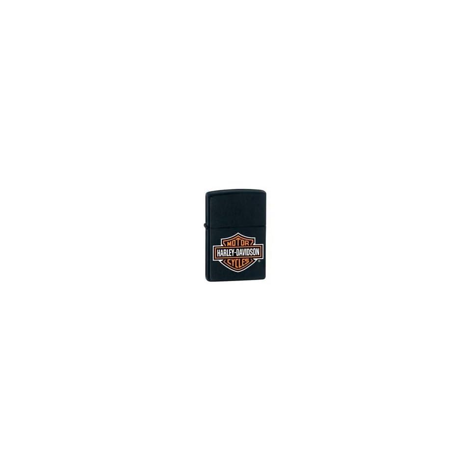 Zippo Harley Davidson Black Matte Lighter Kitchen
