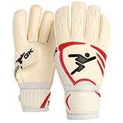 Precision Goalkeeping Vortex 2 Roll Junior Goalkeeper Gloves 4 Red / White