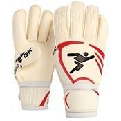 Precision Goalkeeping Vortex 2 Roll Junior Goalkeeper Gloves 4 Red / White