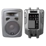 Pyle-Pro PPHP898A 400 Watts 8 2-Way Plastic Molded Powered/Amplified Speaker System