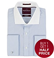 Sartorial Slim Fit Pure Cotton Winchester Shirt