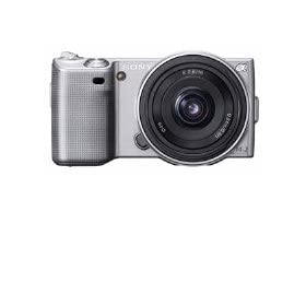 Sony Alpha NEX NEX5A/S Digital Camera with Interchangeable Lens (Silver)