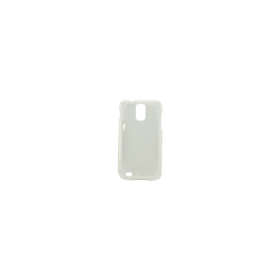 Icella FS SAT989 TCL Transparent Clear Snap On Cover for Samsung Galaxy S II T Mobile T989