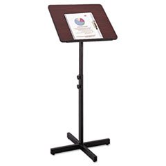 Image of * Adjustable Speaker Stand, 21w x 21d x 30h to 46h, Mahogany/Black (B0088JYOZW)
