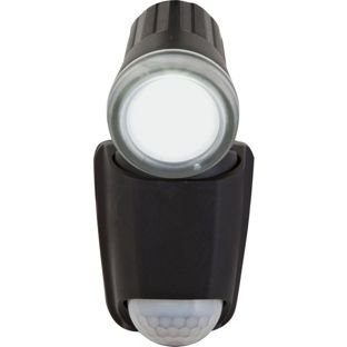 1 x led single spot wireless security light with pir