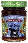 Crofters Organic Fruit Spread Strawberry 8212 10 oz