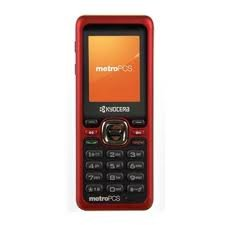 Metro Pcs Red Kyocera Domino S1310 Clean Clear Esn Ready for Activation