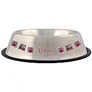 Pet Goods NCAA Alabama Crimson Tide Stainless Steel Bowl